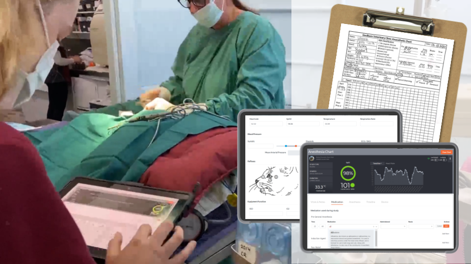 Digital Anaesthesia Chart - Save Time and Reduces Stress!