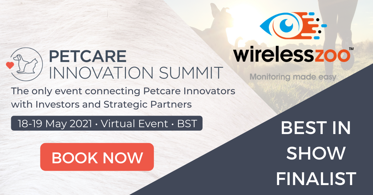 WirelessZoo named Best in Show Finalist at Petcare Innovation Summit